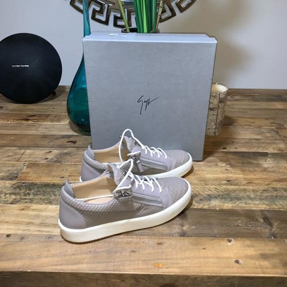 0267f20a7b8e2 Giuseppe Zanotti Shoes | New Frankie Croc Sneakers | Poshmark